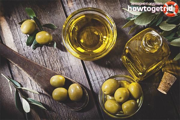 Применение оливкового масла для лица