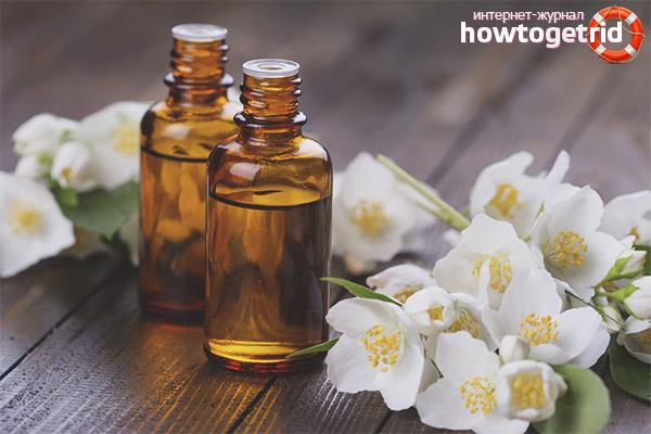 Рецепт с маслом жасмина для проблемной кожи лица