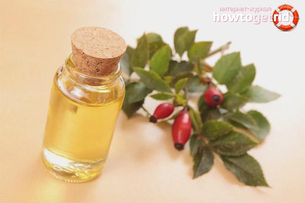 Рецептура масок для лица с маслом шиповника в составе