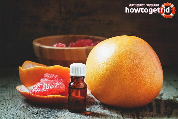Рецепты для лица с маслом грейпфрута