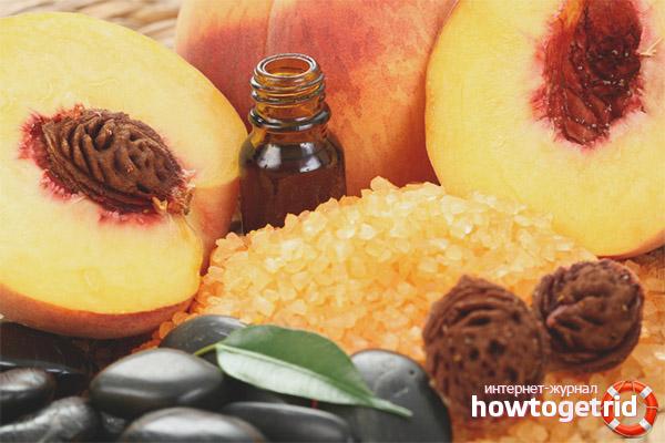 Рецепты для лица с персиковым маслом