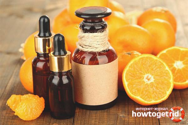 Рецепты для волос с маслом апельсина