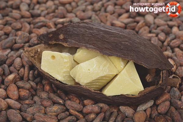 Рецепты косметических масок с маслом какао