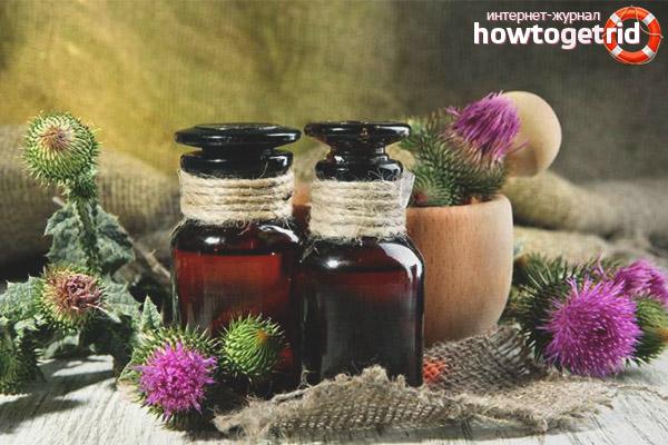 Репейное масло для жирной кожи лица