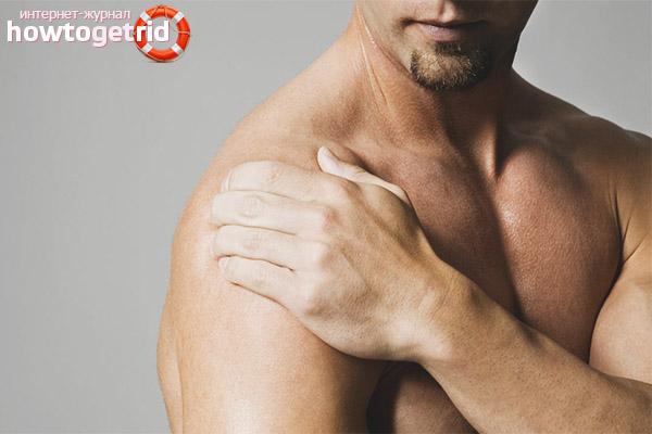 Симптомы артрита плечевого сустава