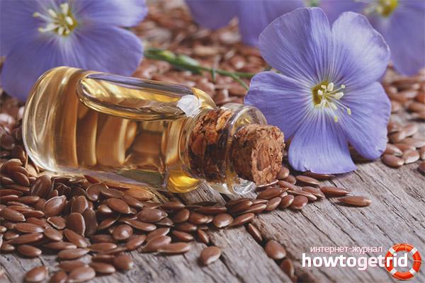 Способы применения льняного масла для лица