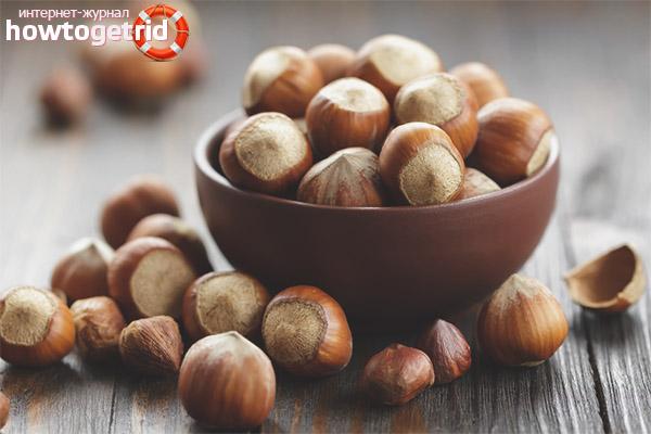 Вред лесного ореха