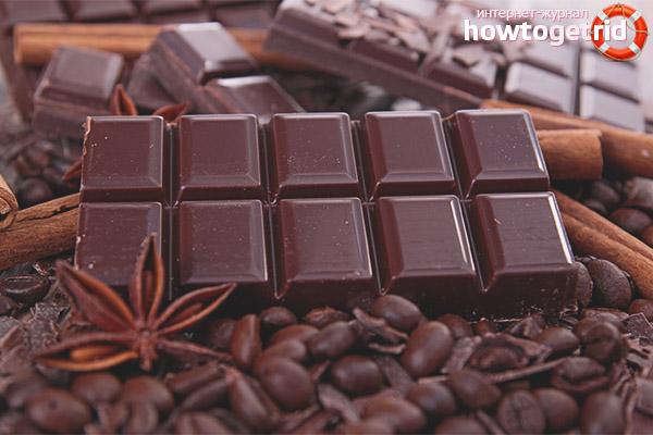 Вред от употребления шоколада