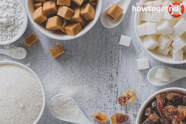 Чем заменить сахар при грудном вскармливании