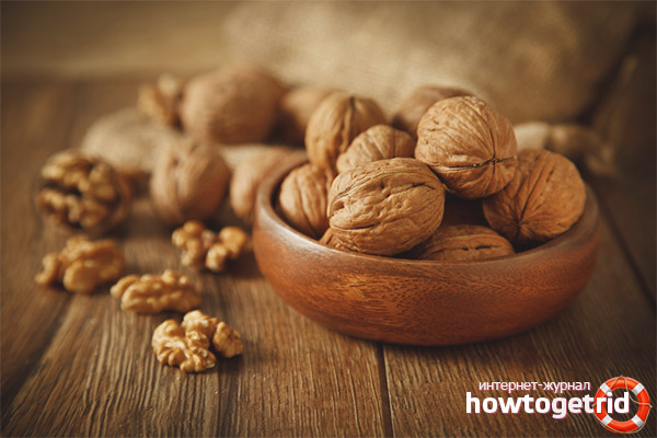 Грецкие орехи и лактация