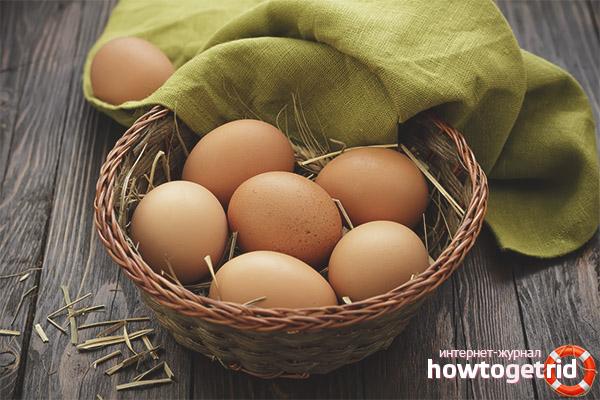 Яйца при грудном вскармливании
