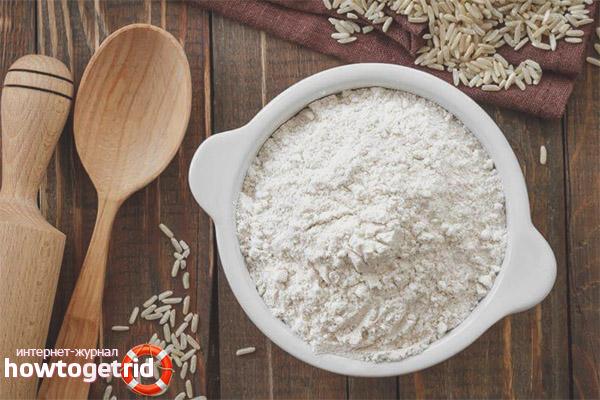 Как правильно хранить рисовую муку