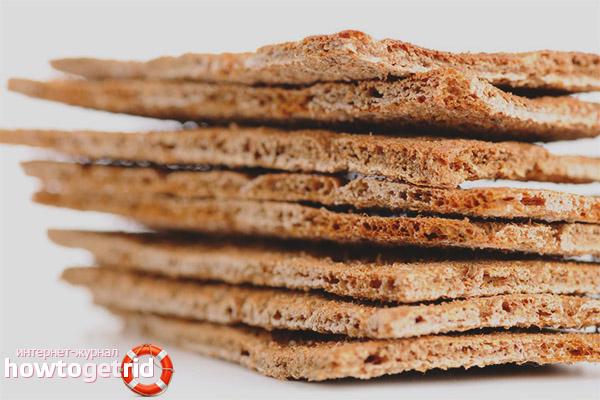 Как правильно употреблять хлебцы в период лактации