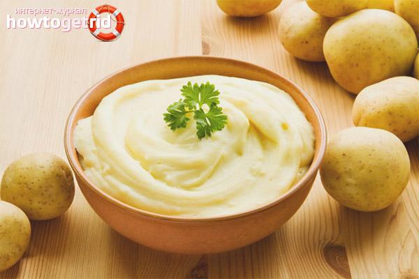Как приготовить полезное картофельное блюдо при ГВ