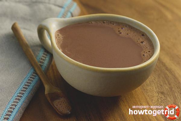 Как принимать какао при грудном вскармливании