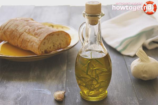 Как сделать чесночное масло