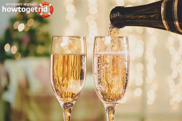 Как снизить риск от употребления шампанского при гв