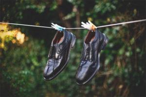 Как высушить обувь изнутри
