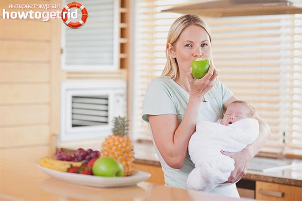 Какие продукты можно кушать кормящей маме