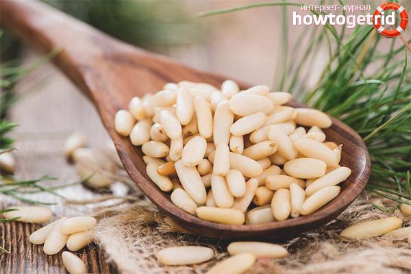 Кедровые орехи для женщин