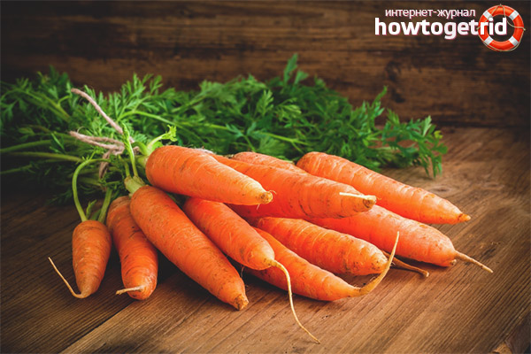 Меры предосторожности при употреблении моркови для кормящей мамы