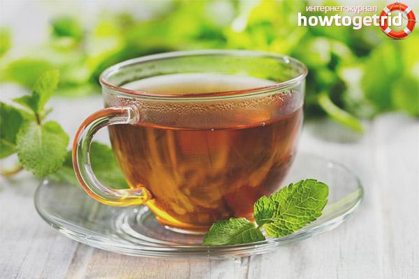 Мятный чай для женщин