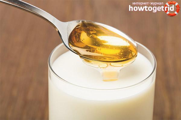 Молоко с медом при беременности