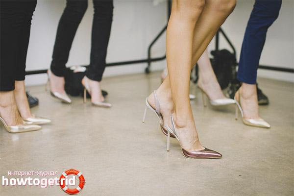 Можно ли беременным ходить на каблуках