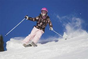 Можно ли беременным кататься на лыжах