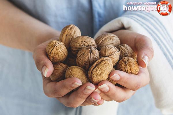 Можно ли беременным кушать грецкие орехи