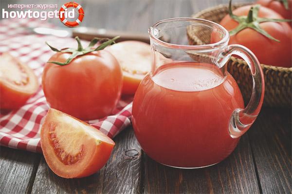 Можно ли беременным томатный сок