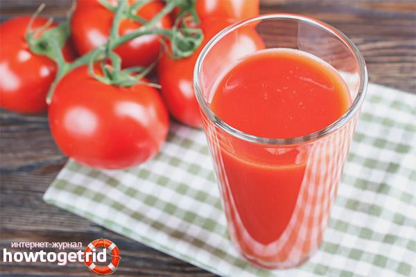 Можно ли пить томатный сок при беременности