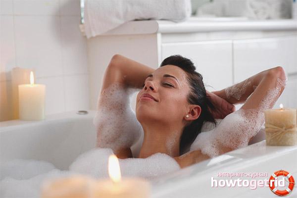 Можно ли принимать ванну при грудном вскармливании
