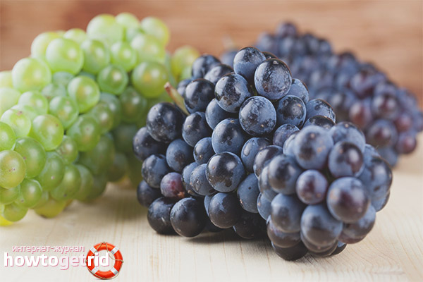 Ограничения винограда при грудном вскармливании
