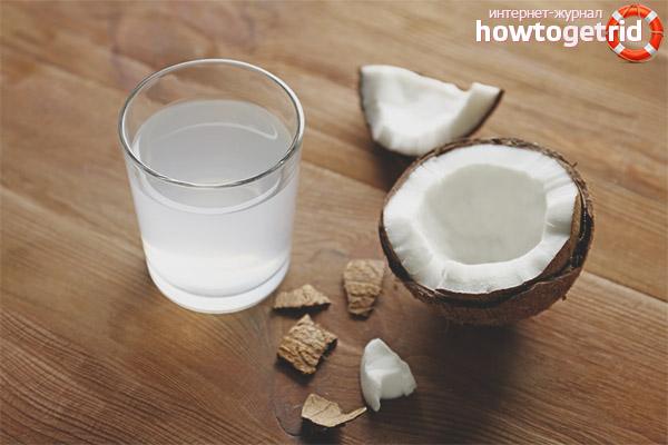 Отличия кокосового молока и воды