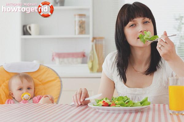 Питание после кесарева сечения для кормящей матери