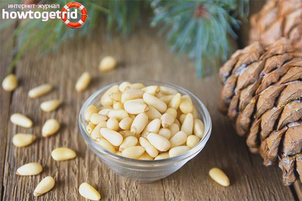 Полезное влияние кедровых орехов на лактацию