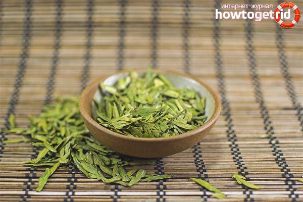 Полезные свойства чая лунцзин