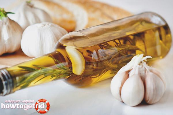 Полезные свойства и применение чесночного масла