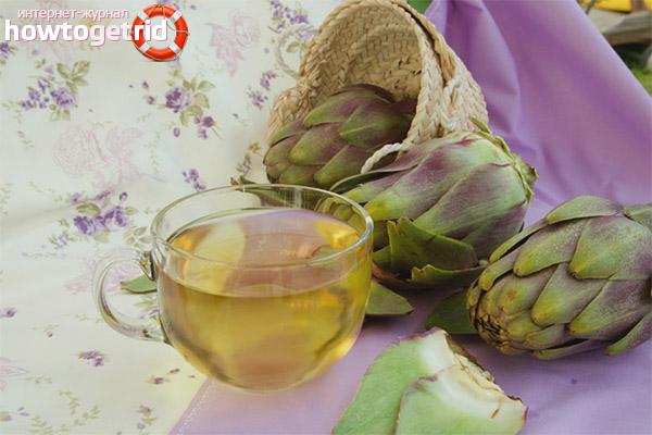Полезные свойства и противопоказания артишокового чая