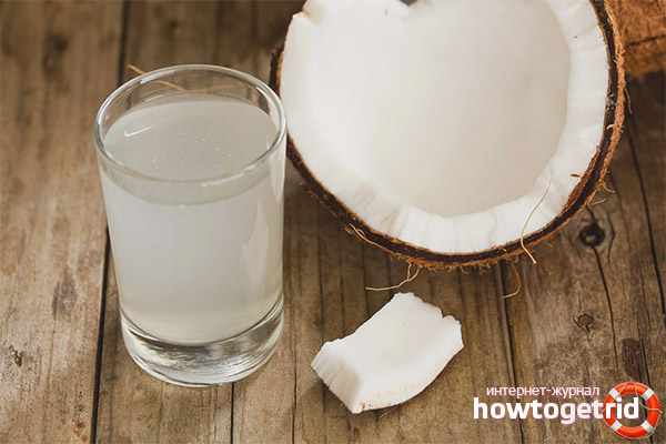 Полезные свойства и противопоказания кокосовой воды