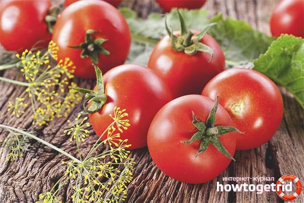 Полезные свойства помидоров для организма кормящей матери