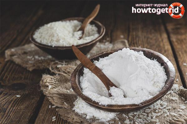 Полезные вещества в составе рисовой муки