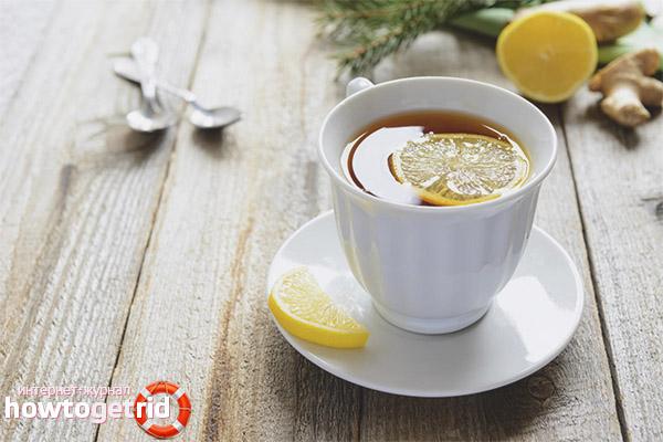 Польза чая с лимоном при вынашивании плода