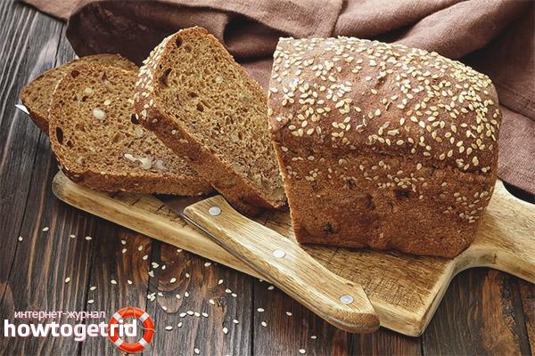 Польза и вред бездрожжевого хлеба