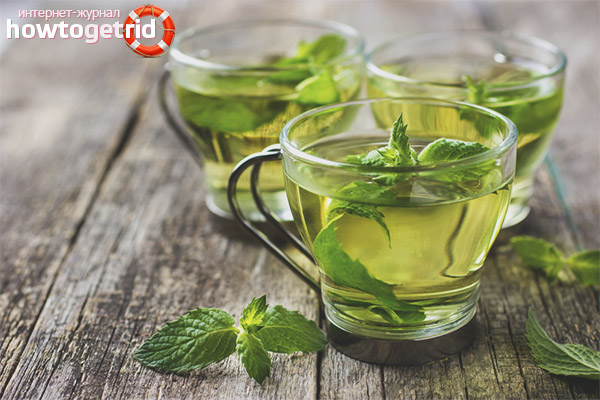 Польза и вред чая с мятой