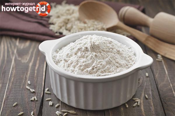 Польза и вред рисовой муки