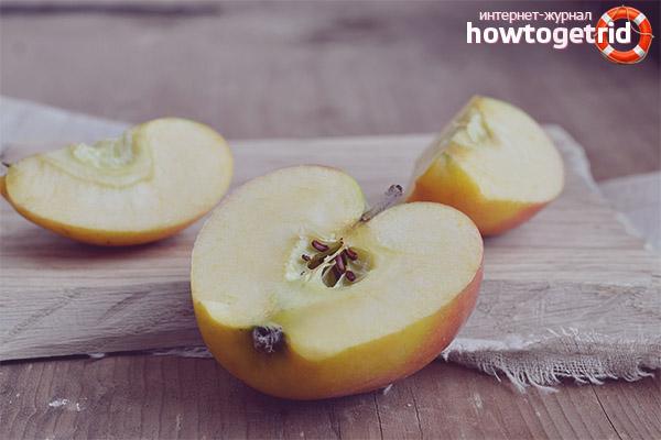 Польза и вред семечек яблок