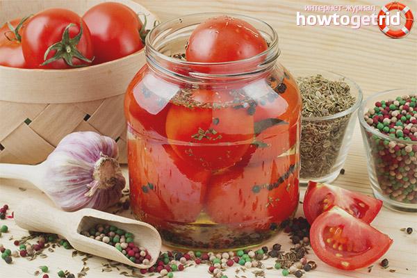 Польза и вред соленых помидор