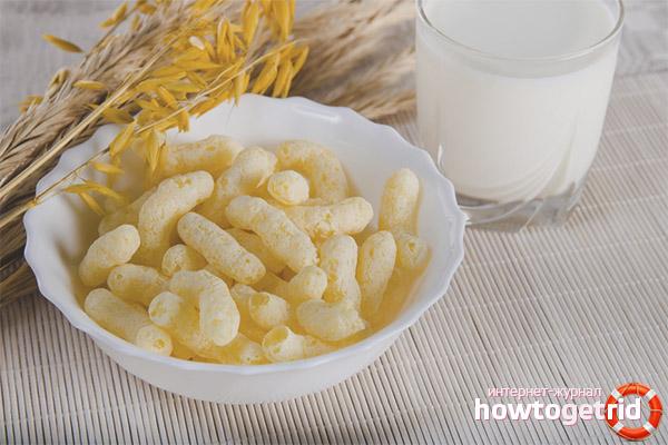 Польза кукурузных палочек при грудном вскармливании